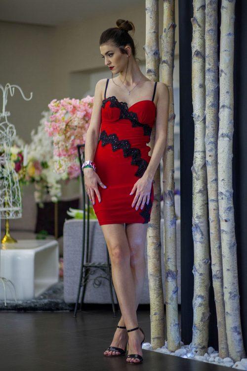 Rochie Hot Diva Lycra 1