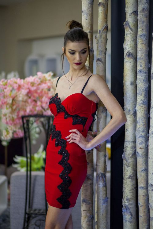 Rochie Hot Diva Lycra 2