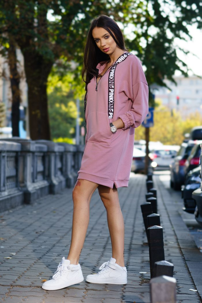 Hanorac Pink 04