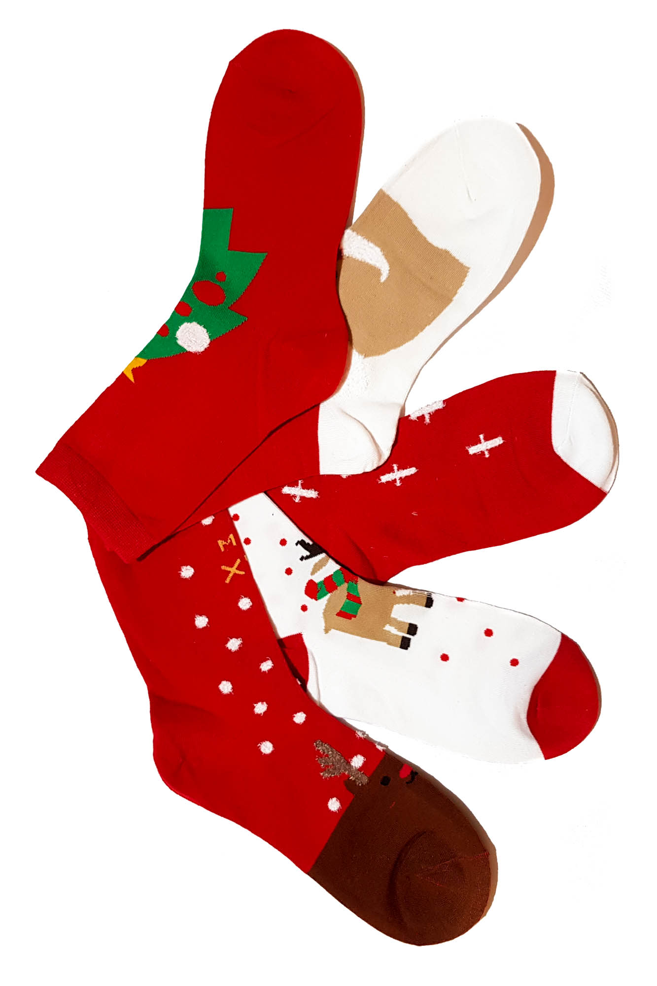 Sosete Red Christmas 01