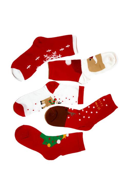 Sosete Red Christmas 02